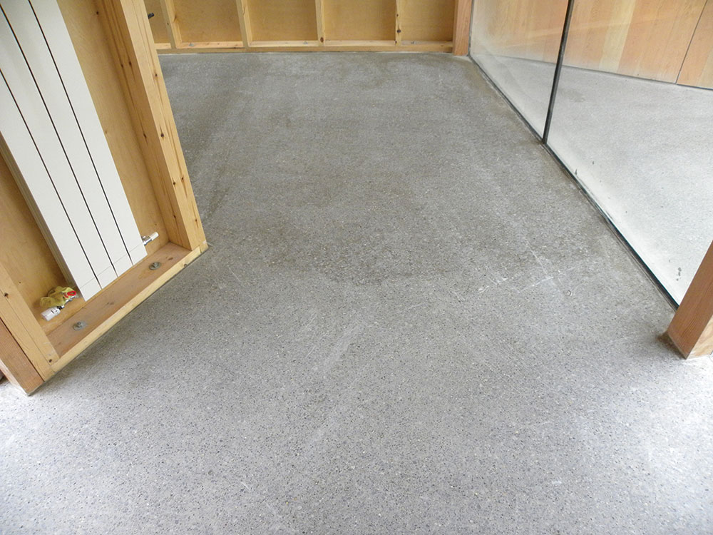 Concrete floor finish for Caring for polished concrete floors