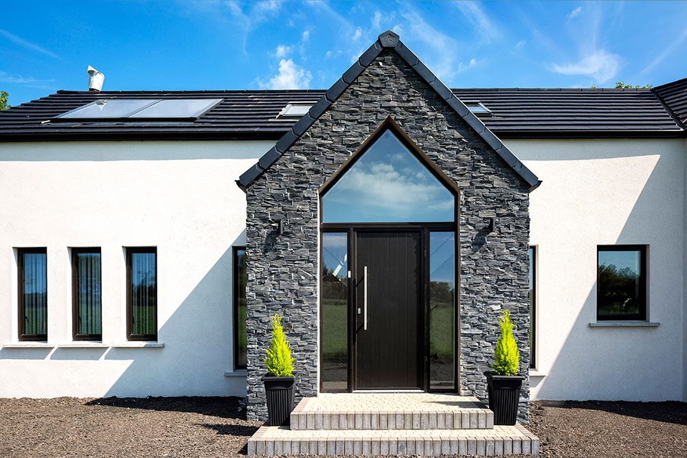 The contemporary bungalow for Bungalow designs ireland