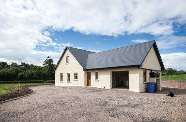 Ireland's first timber kit house