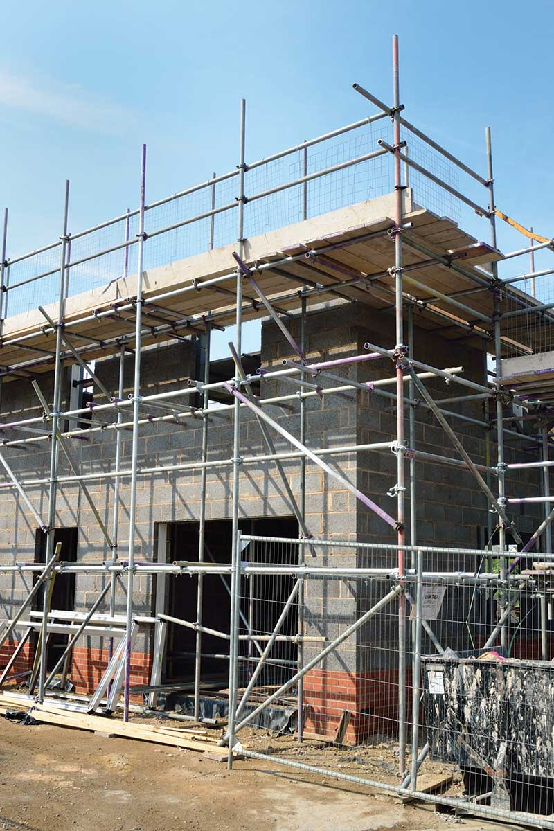 Construction Scaffolding Design : How to budget your selfbuild project