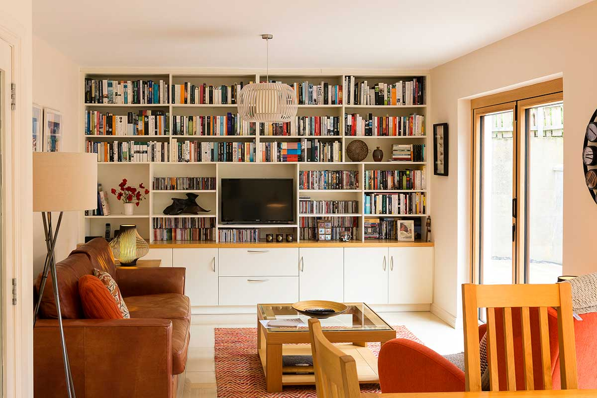 Open plan renovation for Wall pictures for living room ireland