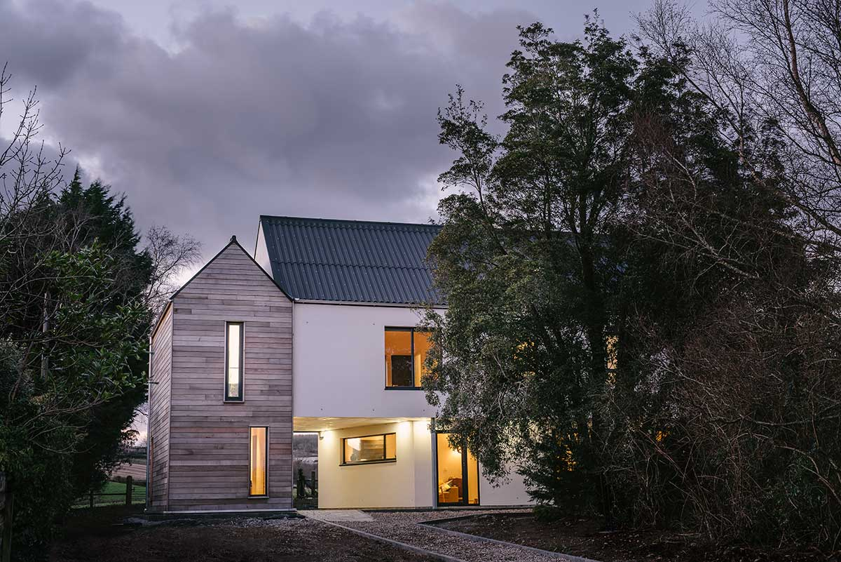 Small modern family home in co down
