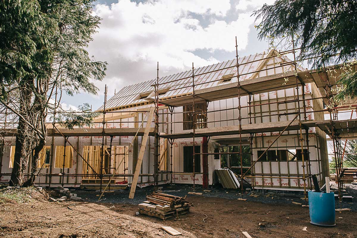 New home loan open to roi self builders selfbuild for Financing new home construction