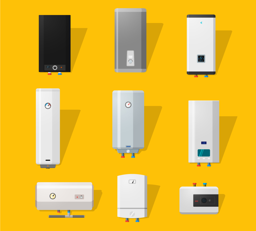 heating and hot water systems