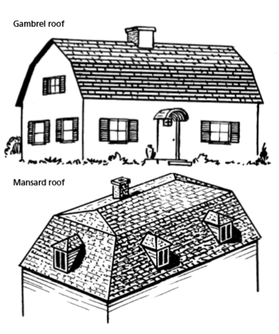 Roofing types and methods - SelfBuild