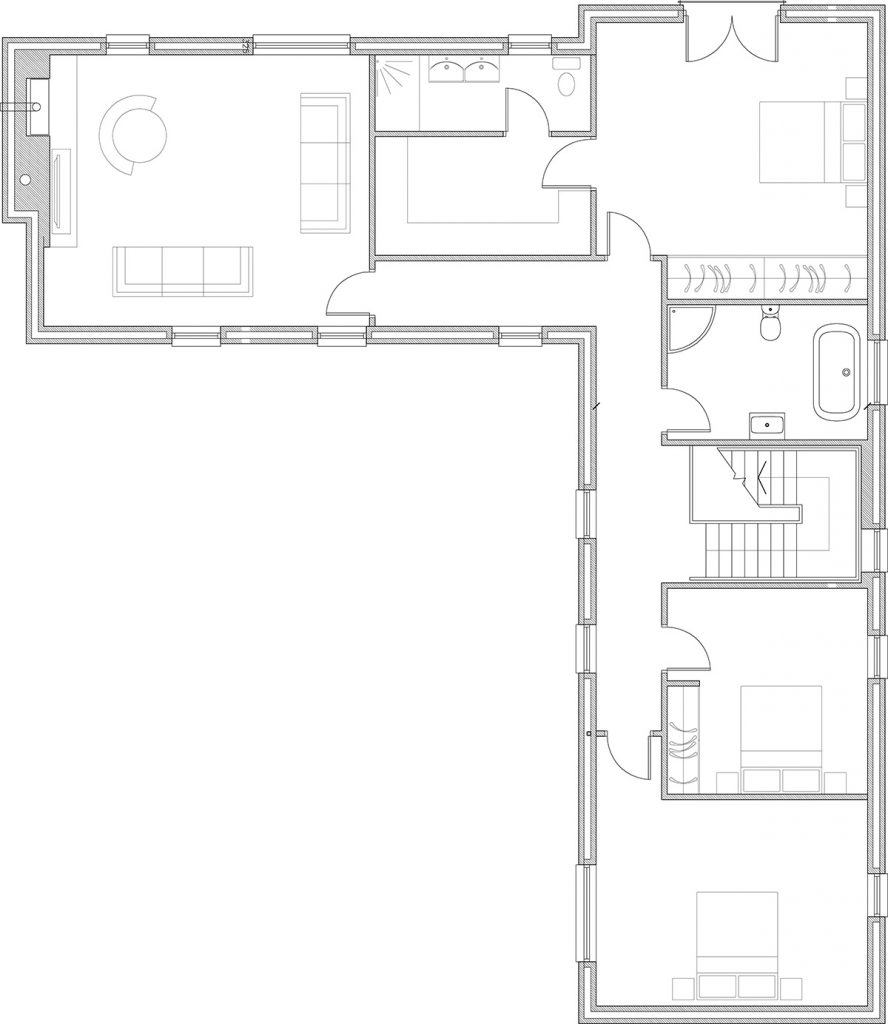 This image has an empty alt attribute; its file name is McGowan-A1-Proposed-First-Floor-Plan-888x1024.jpg